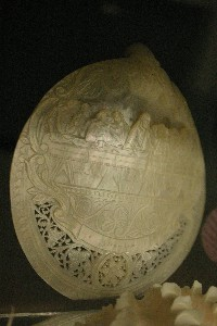 carved scallop shell - C.Iburg