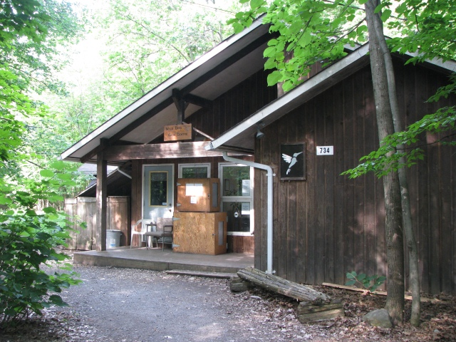 The exterior of the Wild Bird Care Centre.