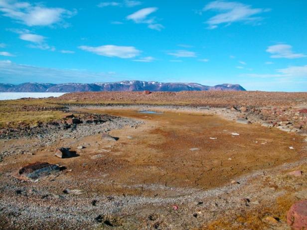 View of Cape Herschel on Ellesmere Island, Nunavut.