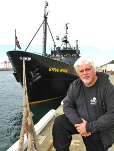 An image from Eco-Pirate: The Story of Paul Watson.