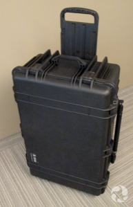 One of the shipping cases.