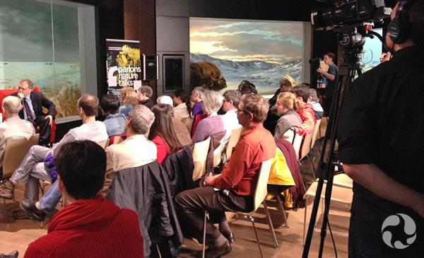 A NatureTalks audience.