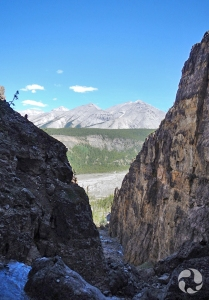 View of canyon.