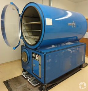 The museum's freeze dryer.