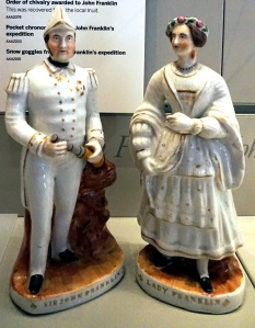 Two porcelain figurines.