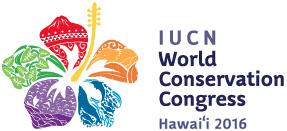 Logo of the IUCN Hawaii World Conservation Congress. © IUCN