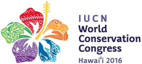 Logo of the IUCN Hawaii World Conservation Congress. © IUCN