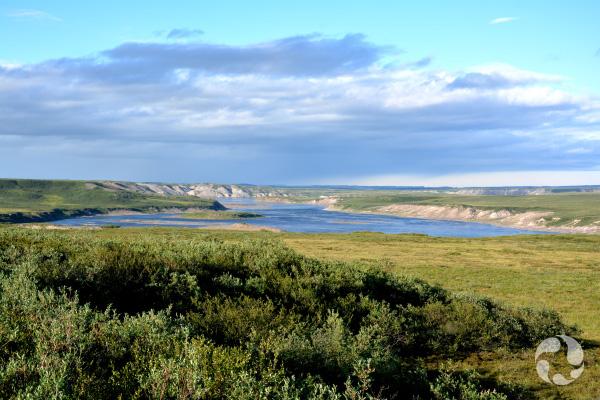 Coppermine River, Nunavut.