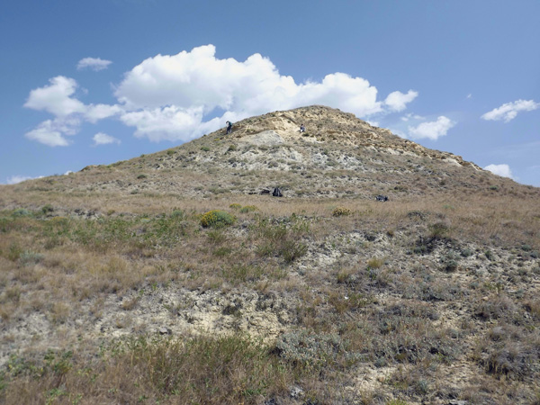 A hill in Grasslands National Park