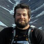 Dominique Fauteux, fieldwork on Bylot Island, Nunavut