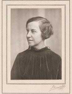 Portrait of Madeleine Fritz